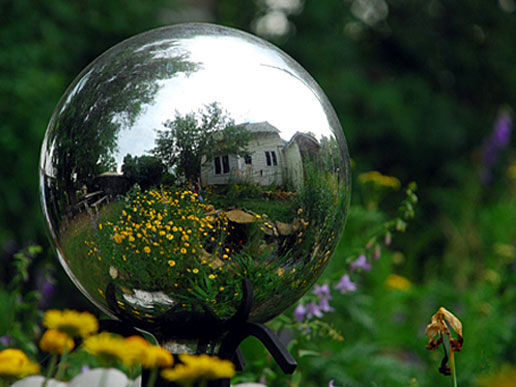 garden globe KDTurner Design